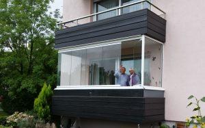 balkon terrassenverglasungen brendel bauelemente wintergarten. Black Bedroom Furniture Sets. Home Design Ideas